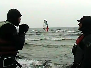 Windsurfing for de seje drenge