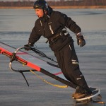 winter windsurf